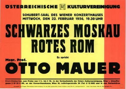 Monsignore Otto Mauer - Schwarzes Moskau - Rotes Rom